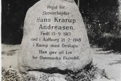 Mindesten for Hans Krarup Andreasen.