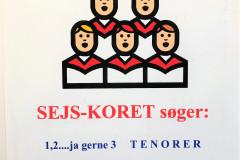 Sejs-koret søger mænd