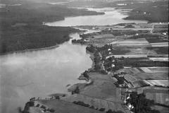 1928 - 33 Luftfoto 1. Sejs Snævringen.