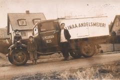 Mælkebil Sejs ca. 1955