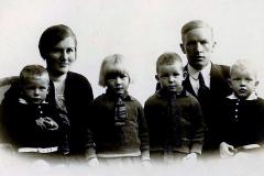 Købmand Helge Madsen og hustru