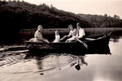 Tur på søen 1948