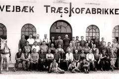Træskofabrikken 1944.