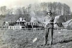 Hotel Laven brænder.1973.