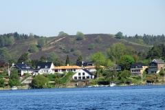Sejs-Svejbæk set fra Borresø syd