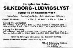 Silkeborg-Ludvigslyst busrute