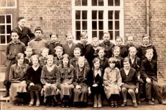 Sejs-Skole ca. 1927