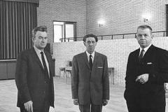 Sejs skole1969. Indvielse aulaen.