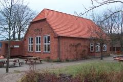 Tyttebærhuset sydøst. Oprindelig forskole.